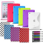 S Line Gel Case Polka Dot Cover Pouch Back For Apple Ipad 2 3 4  Ipad Mini
