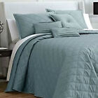 JCP BY Royal Velvet OGEE BEDSPREAD Quilt Stitching Matte Satin Retail up to $190