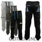 Mens HLY EQPT Panel Joggers Mens Fleece Lined Plain Jog Pants with Pockets