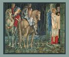 Sir Gawaine Knights of Round Table Burne-Jones Canvas or Fine Art Print Poster