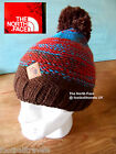 THE NORTH FACE ANTLER BROWN POMPOM BEANIE TUQUE HAT Mens Womens Hat UNISEX OSFA