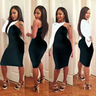 NEW Women Sexy Long Sleeve Bandage Bodycon Evening Party Cocktail Dress Clubwear