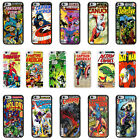 DC Marvel Comic Book Case Cover for Apple iPhone 4 4s 5 5s 6 6 Plus - 07