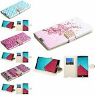 For LG G4 Pattern Design Bling Diamond Belt Flip PU Leather Case Cover Pouch