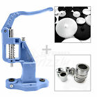 Fabric Self Covered Cover Metal Buttons With Button Making Tool And Machine DIY