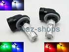 A Pair LED Fog Light Plasma Replacement Bulbs H27W / 2 881 886 889 894 896 898