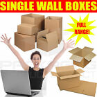 ZEBRA QUALITY SINGLE WALL POSTAL MAILING CARDBOARD BOXES