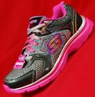 NEW Gir's Youth SKECHERS MAGNETIX 80445 Black/Pink  Athletic Sneakers Shoes
