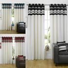 Velvet Pintuck Eyelet Ringtop Curtains Kendal
