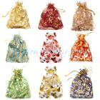 10/100 Beauty Gauze Organza Bag Jewelry Packing Pouch Wedding Favor Gift Bags