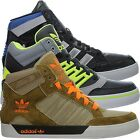 Adidas Hardcourt Hi black or brown Men's Shoes Lifestyle Fashion Sneakers NEW