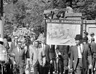 1963 CORE Birmingham Civil Rights March Vintage Photo