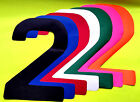 Banner Letters A-Z Waterproof 300mm Lulham-Robinson Red Black Blue Green Whit