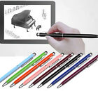 13Color Metal Universal Stylus Touch Pen For Iphone Android Ipad HTC PC Pen HOCA