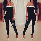 Ladies Women Bandage Bodycon Cocktail Party Evening Jumpsuit Playsuit Backless
