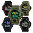 Mens LED Digital Date Alarm Waterproof Sports Analog Watch Wristwatch Trusty