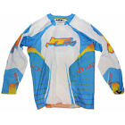 JT Racing EVO Protek MX Off Road Jersey Cyan/White size Adult
