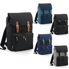 Bag Base Unisex Vintage Backpack Adjustable Strap Rucksack Laptop Bag One Size