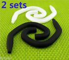 2 sets Silicone Sports Fit Frame Hanger for Earphone Earbuds Headset Round Cable
