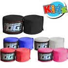 KIDS JUNIOR  DUO GEAR KICKBOXING HAND WRAPS 1.5m