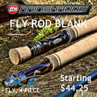Rainshadow RX6 Fly Rod Blank 4 Piece