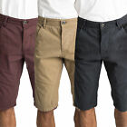 Mens Shorts Threadbare Venom Casual Knee Length Summer Chino Cargo Combat Pants