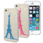 Eiffel Tower Balloon Simple Strokes Pattern Cover Case For Iphone 5/5s Reliable