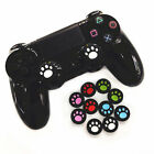 2pcs Silicone Cat Paw Joystick Thumb Stick Grip Cap for PS3 PS4 Xbox One/360