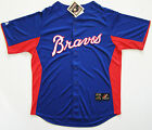 Majestic Atlanta Braves Team Fashion Cooperstown Full-Button Sewn Jersey