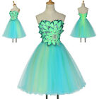 SWEET Bridesmaid Princess Evening Cocktail Party Prom Short Mini Grad Ball Dress
