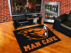 Oregon State Beavers Man Cave Area Tailgate Rugs 3 Sizes