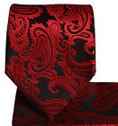 Q600/ Paisley Necktie and Pocket Square Set . 30 COLORS . $15 & Free Shipping