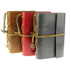 Vintage Retro Style Leather Cover Notebook Journal Diary Blank String Nautical