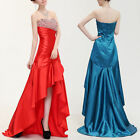 Women's Wedding Bridesmaid Charm Evening Party Ball Prom Gown Formal Sequin Dres