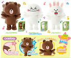 JAPAN TAKARA TOMY A.R.T.S. LINE PLUSH MUSIC DANCING DOLL - BROWN/ CONY
