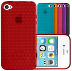 HYRDO SERIES TPU GEL CASE COVER FOR APPLE IPHONE 4 & 4S