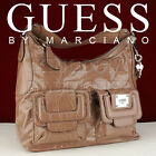 New GUESS Handbag Ladies Valka Totes Bag Taupe Multi Purse CAD