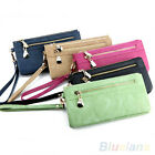 LADY NICE PERSONALIZED WALLET WRISTLET CARD COIN HOLDER LONG CLUTCH ZIPPER PURSE