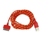 2M Hemp Rope USB Data & Sync Charger Cable Cord For iPhone 4 4S iPad 2 EW UK02