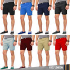 Mens Chino Shorts Cargo Summer Cotton Work Combat Half Pant Casual Designer New