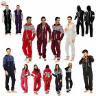 Mens Ladies Kids Unisex Onesie Aztec Snow Printed A Lot Sleepwear Pyjama Fleece