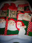Christmas Letters to Santa Crocheted Kitchen Towel Set