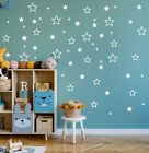 116 Stars removable wall stickers for Nursery or kids room