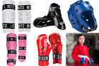 BLITZ KARATE DIPPED FOAM SPARRING PROTECTION PADS HANDS FEET HEAD AND SHINS