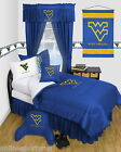 West Virginia Mountaineers Bed in a Bag & Valance Twin Full Queen Size