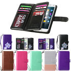 Luxury Magnetic Flip Leather Card Cover Case Wallet For Samsung Galaxy Note 3