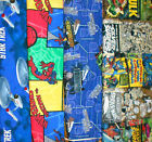 SUPER HEROS #10 Fabrics, Sold Individually, Not As a Group, By The Half Yard
