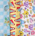 Clearance CHARACTER Fabrics, Sold Individually, Not As a Group, By The Half Yard