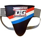 THAI BOXING BLACK PADDED v2 GROIN GUARD PROTECTOR MMA CUP MARTIAL ART JOCK STRAP