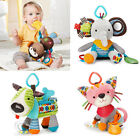 Baby Kids Cute Cartoon Animal Plush Car Rattle Multicolor Bed Hanging Gift Toy